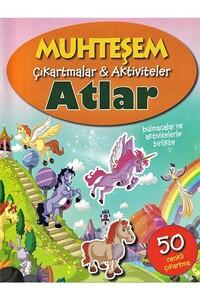 Parıltı Yayınları - Muhteşem Çıkartmalar ve Aktiviteler - Atlar - Parıltı Yayınları