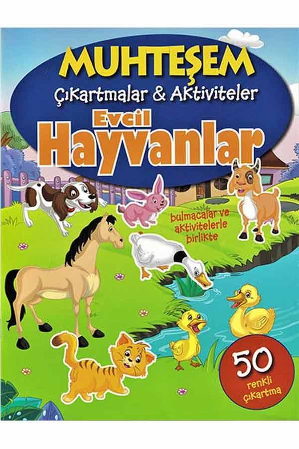 Muhteşem Çıkartmalar ve Aktiviteler - Evcil Hayvanlar - Parıltı Yayınları