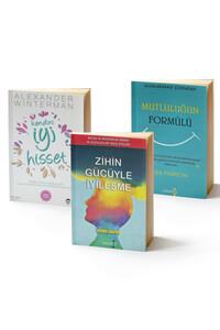 Yakamoz Yayınları - Mutluluğun Formülü, Zihin Gücüyle İyileşme ve Kendini İyi Hisset - 3 Kitap