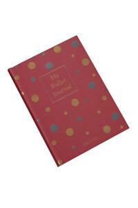 Yediveren Yayınları - My Bullet Journal Defter (Confetti Kırmızı)