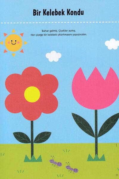 Öğrenmeye İlk Adım Seti 3 Yaş - Erdem Çocuk Yayınları