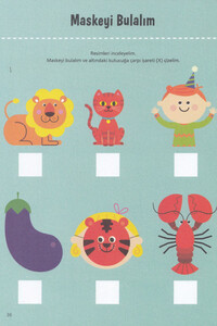 Erdem Çocuk Yayınları - Öğrenmeye İlk Adım Seti 4 Yaş - Erdem Çocuk Yayınları