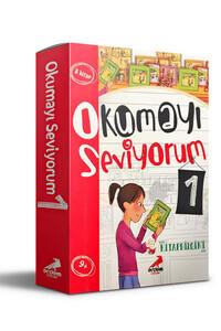Erdem Çocuk Yayınları - Okumayı Seviyorum 1 - 8 Kitap Takım - Erdem Çocuk Yayınları