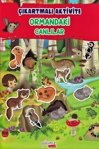 Yakamoz - Ormandaki Canlılar - Çıkartmalı Aktivite Kitabı