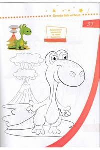 Örneğe Bakarak Boya Okul Öncesi Boyama Set 2 - 6 Kitap - Thumbnail