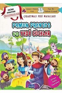 Parıltı Yayınları - Pamuk Prenses ve Yedi Cüceler Çıkartmalı Peri Masalları - Parıltı Yayınları