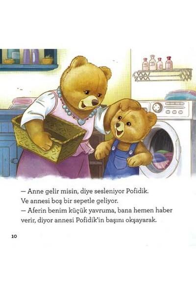 Pofidik Çocuklar İçin Hikaye Seti 4 Kitap 128 Sayfa