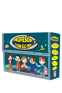 Timaş Çocuk - Profesör İyon İle Fen Set 2 -5 Kitap Takım