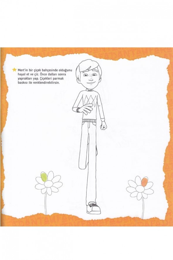 Rafadan Tayfa Etkinlikli Boyama Kitabım - 4