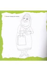 Rafadan Tayfa Etkinlikli Boyama Kitabım Seti - 4 Kitap - Thumbnail