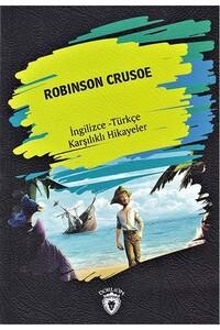 Dorlion Yayınevi - Robinson Crusoe - Ingilizce Türkçe Karşılıklı Hikayeler