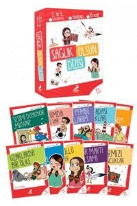 Erdem Çocuk Yayınları - Sağlık Olsun Dizisi 10 Kitap - Erdem Çocuk Yayınları