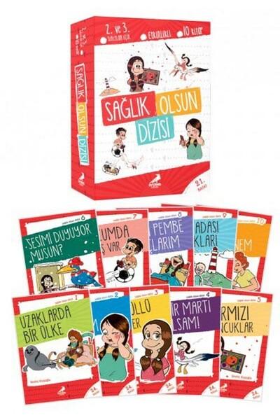Sağlık Olsun Dizisi 10 Kitap - Erdem Çocuk Yayınları