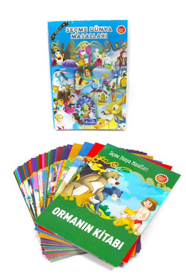 Seçme Dünya Masalları 25'li Set Küçük Boy - Parıltı Yayınları