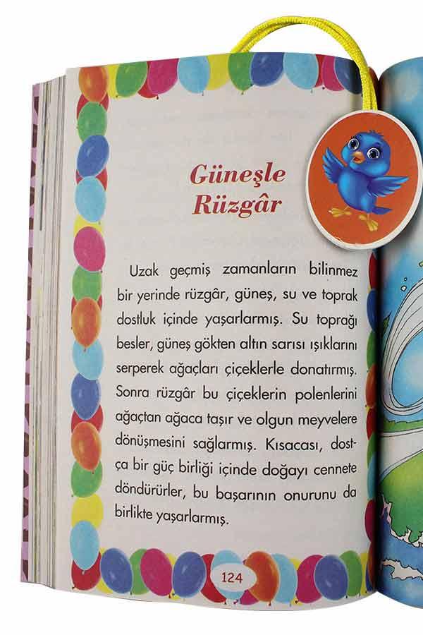 Şeftali, Kakao ve Limon Kokulu Masallar - 3 Kitap