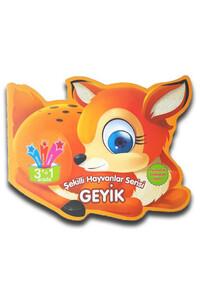 Parıltı Yayınları - Şekilli Hayvanlar Serisi - Geyik - Parıltı Yayınları