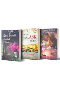 Yakamoz - Seni Sevmekle Başladı Her Şey, Kaçan Kovalanır ve Kaderde Varsa Aşk Olur - 3 Kitap