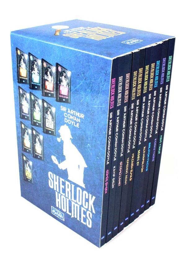 Sherlock Holmes Seti 10 Kitap Kutulu - Parıltı Yayınları