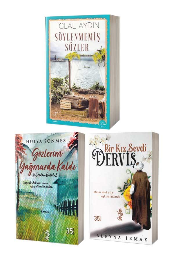 Söylenmemiş Sözler, Gözlerim Yağmurda Kaldı ve Bir Kız Sevdi Derviş - 3 Kitap