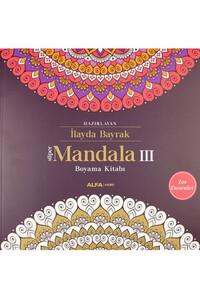 Alfa Yayınları - Süper Mandala Boyama 3 Boyama Kitabı - Alfa Yayınları