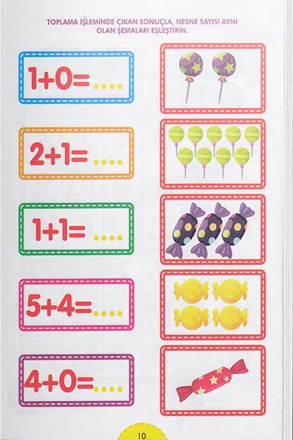 Süper Matematik Etkinliklerle Matematik Öğreniyorum 8 Kitap