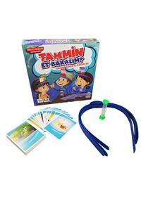 Hobi Eğitim Dünyası - Tahmin Et Bakalım Mavi Kutu - Eylemler