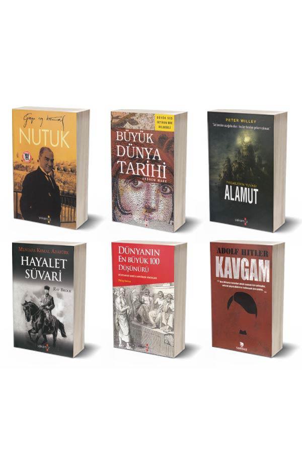 Tarih Seti 6 Kitap - Yakamoz Yayınları