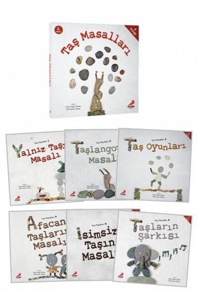 Taş Masalları 6 Kitap - Erdem Çocuk Yayınları