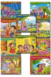 Karatay Yayınları - Teşekkür Ederim Allah'ım 10 Kitap 120 Sayfa