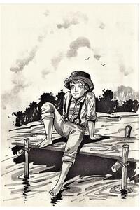 Tom Sawyerın Maceraları - Çocuk Klasikleri - Ciltli - Thumbnail