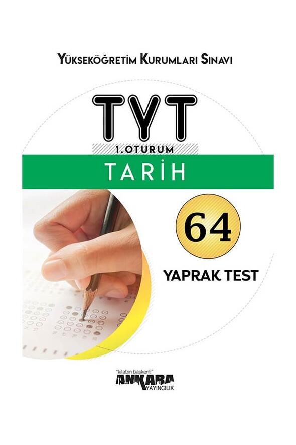 TYT Tarih 64 Yaprak Test Ankara Yayıncılık