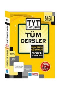 Evrensel İletişim Yayınları - TYT Tüm Dersler Konu Özetli Çözümlü Soru Bankası - Evrensel İletişim Yayınları