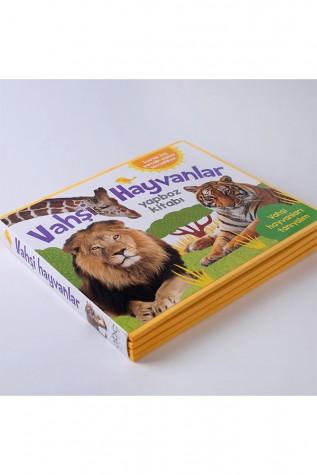 Vahşi Hayvanlar Yapboz Kitabı - Abc Yayın Grubu - Thumbnail