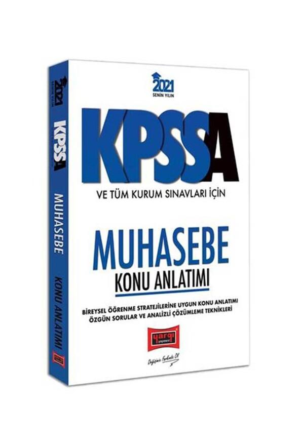 Yargı Yayınları 2021 KPSS A Grubu ve Tüm Kurum Sınavları İçin Muhasebe Konu Anlatımı