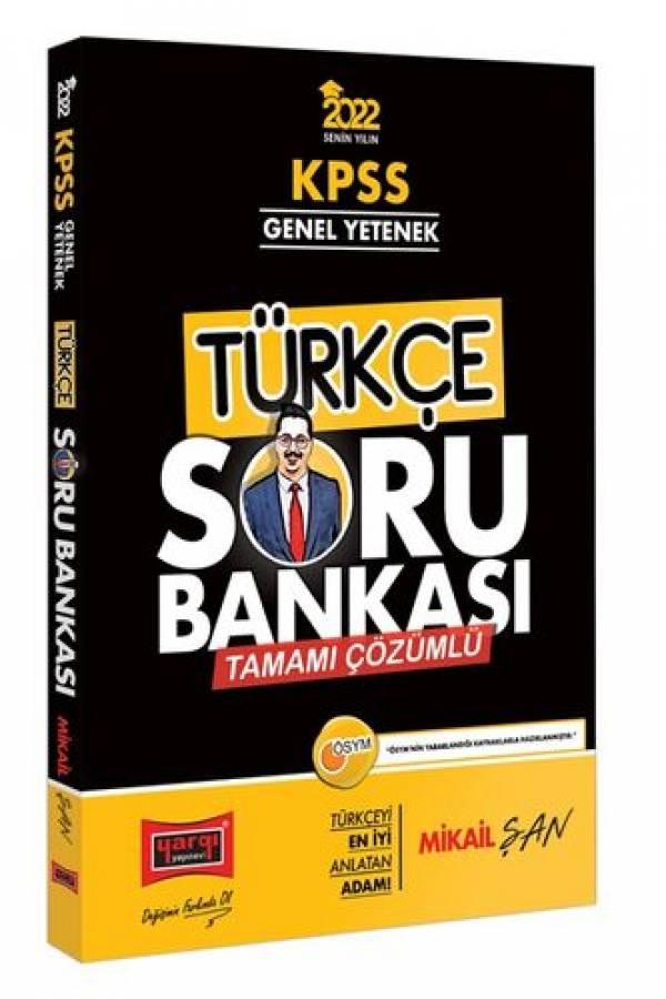Yargı Yayınları 2022 KPSS Genel Yetenek Tamamı Çözümlü Türkçe Soru Bankası