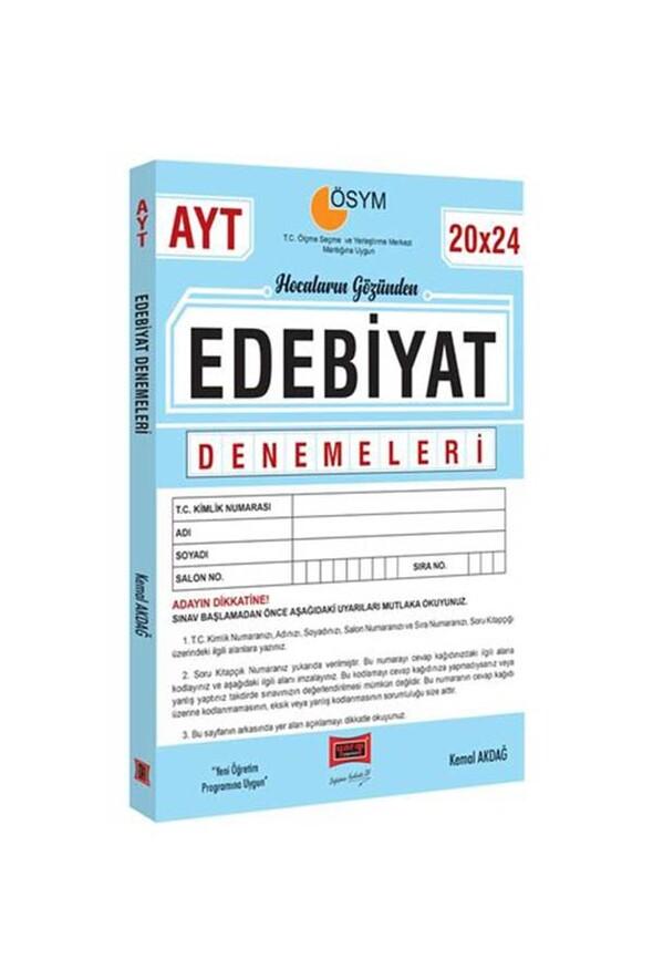 Yargı Yayınları AYT Hocaların Gözünden 20x24 Edebiyat Denemeleri