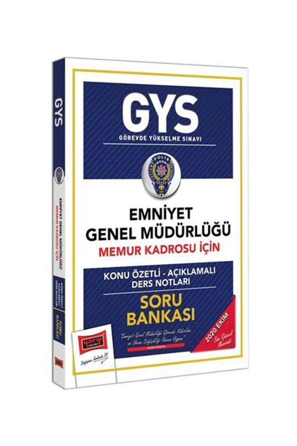 Yargı Yayınları GYS Emniyet Genel Müdürlüğü Memur Kadrosu İçin Konu Özetli Soru Bankası