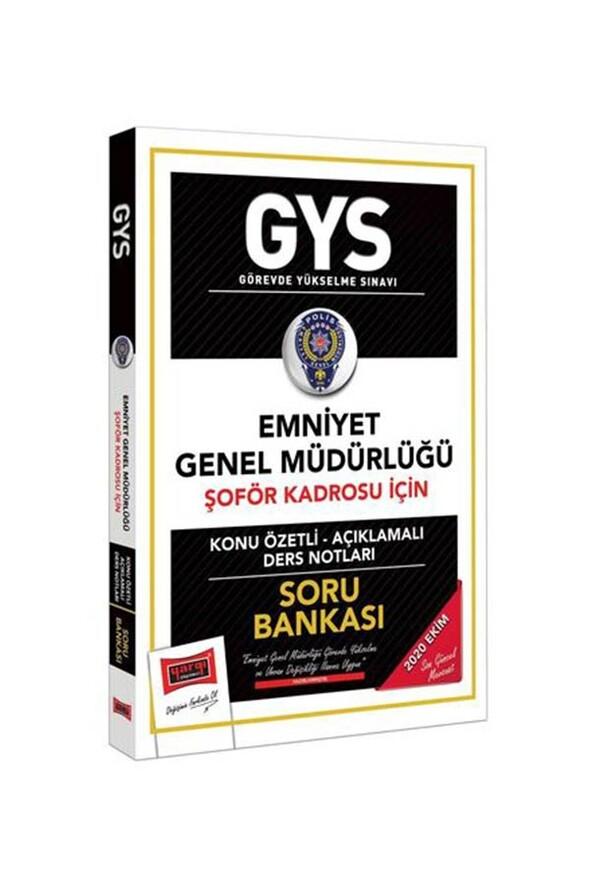 Yargı Yayınları GYS Emniyet Genel Müdürlüğü Şoför Kadrosu İçin Konu Özetli Soru Bankası