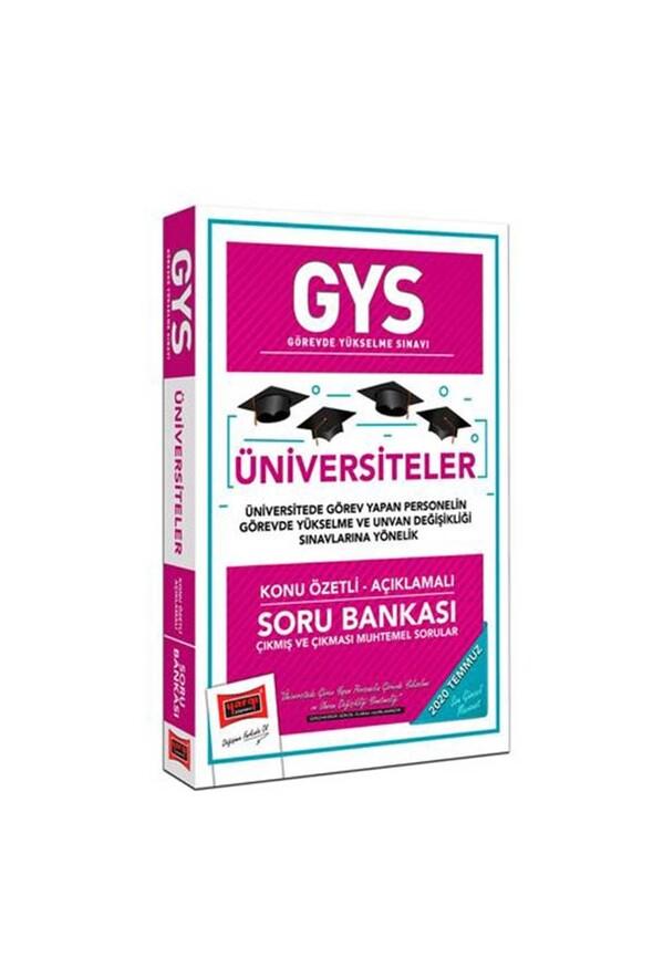 Yargı Yayınları GYS Üniversiteler Konu Özetli Soru Bankası