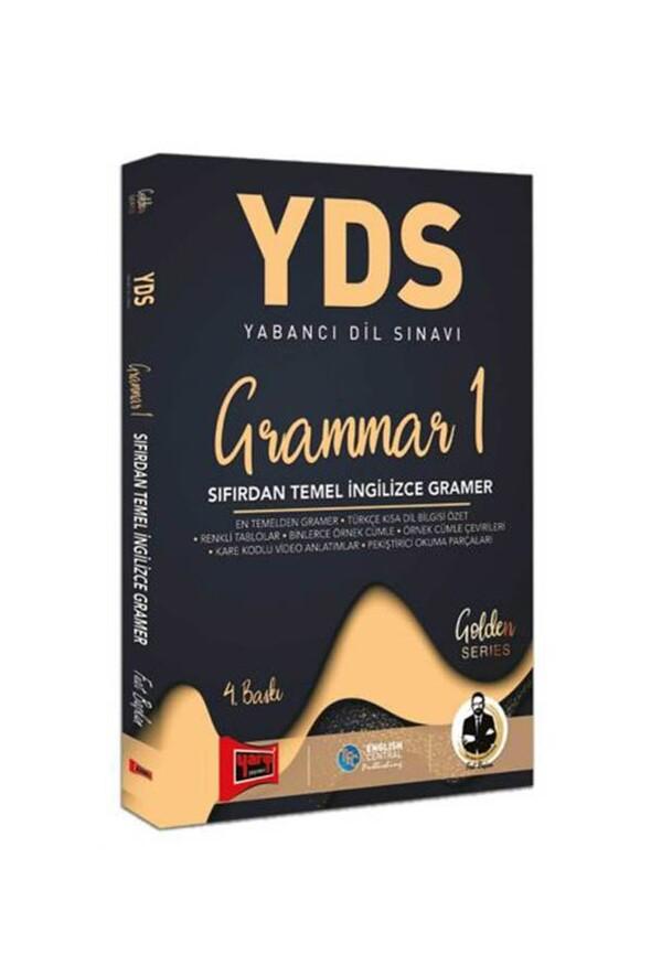 Yargı Yayınları YDS Grammar 1 Sıfırdan Temel İngilizce Gramer