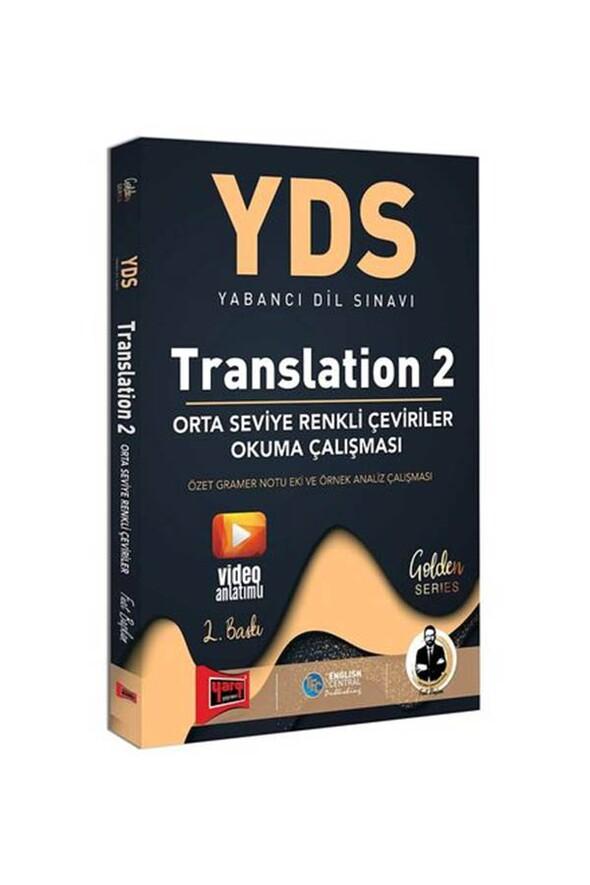 Yargı Yayınları YDS Translation 2 Orta Seviye Renkli Çeviriler Okuma Çalışması