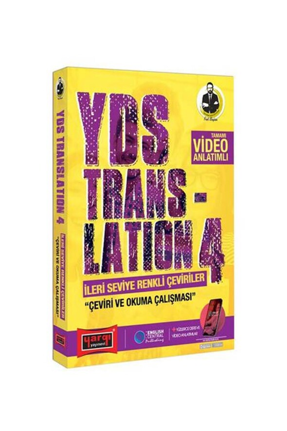 Yargı Yayınları YDS Translation 4 İleri Seviye Renkli Çeviriler