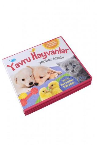 Yavru Hayvanlar Yapboz Kitabı - Abc Yayınları - Thumbnail