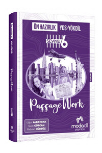 YDS YÖKDİL Ön Hazırlık Passagework Seviye 6 - Modadil Yayınları - Thumbnail