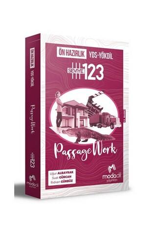 YDS YÖKDİL Passage Work Ön Hazırlık Seviye 1 2 3 - Modadil Yayınları - Thumbnail