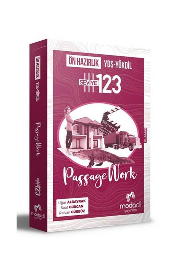 YDS YÖKDİL Passage Work Ön Hazırlık Seviye 1 2 3 - Modadil Yayınları