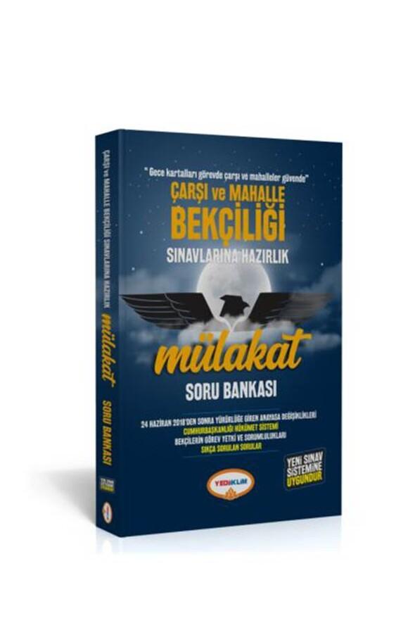 Çarşı ve Mahalle Bekçiliği Sınavlarına Hazırlık Mülakat Soru Bankası Yediiklim Yayınları