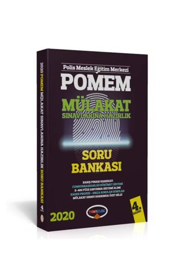 2020 POMEM Mülakat Sınavlarına Hazırlık Soru Bankası Yediiklim Yayınları