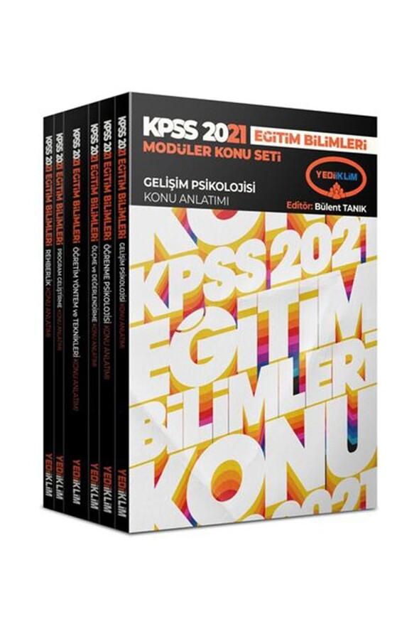 Yediiklim Yayınları 2021 Kpss Eğitim Bilimleri Konu Anlatımlı Modüler Set