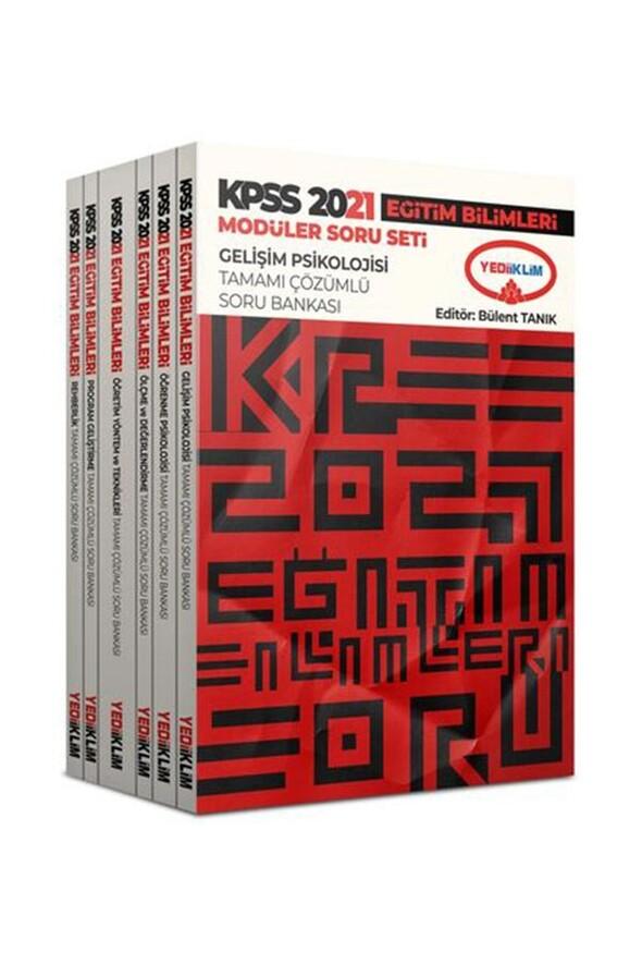 Yediiklim Yayınları 2021 Kpss Eğitim Bilimleri Modüler Soru Bankası Seti